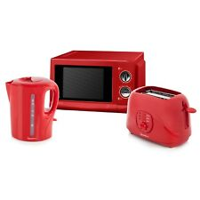 Signature S24003EGLTP Microwave, Toaster and Kettle Kitchen Set - Brand New