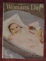 WOMAN'S DAY Magazine November 1946 C. C. Beall Ursula Parrott Dorothy McDowell