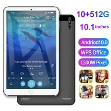 10.1 inch 4G tablet Android 9.0 OS 8GB RAM 512GB ROM WIFI Tablets Dual SIM card