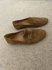 Massimo Dutti Suede Loafers Size 37 Uk 5