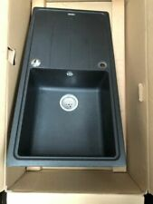 Franke Aveta 1.0 Bowl Black Tectonite Reversible Kitchen Sink & Waste