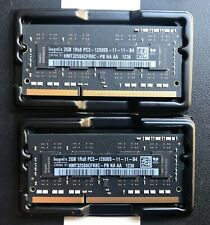Hynix 4Gb (2x2Gb) SODIMM Ram Module DDR3 PC3 12800S 1600 - Laptop Memory for Mac