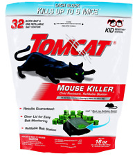 Tomcat Mouse Mice Rat Poison Rodent Control Killer Pest Bait Rid Trap 32 Refills