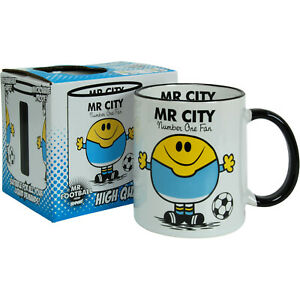 FOOTBALL MUG - great gift for the CITY fan  ( unofficial )