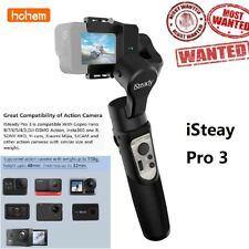 hohem iSteady Pro 3 3-Axis Gimbal Stabilizer IPX4 for GoPro Hero 8/7/6/5/4/3 US