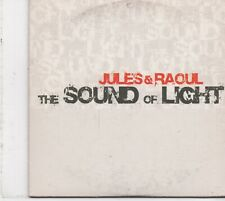 Jules&Raoul-The Sound Of Light cd maxi single 4 tracks cardsleeve