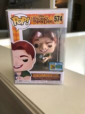 Funko POP Quasimodo Hunchback Notre Dame #574 2019 SDCC Exclusive Booth STICKER