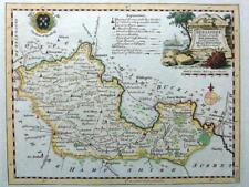 BERKSHIRE WINDSOR  BY THOMAS KITCHIN GENUINE ANTIQUE COPPER ENGRAVED MAP  c1769