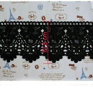 1,5 M Spitze Bestickt DIY Rock Kleid Saum Rand Applikation Franse Nähen
