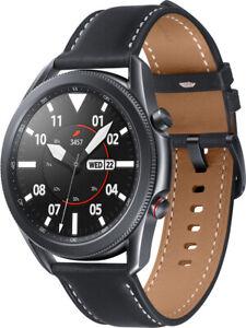 Samsung Galaxy Watch 3 SM-R845 mystic schwarz LTE 45mm Tizen Smartwatch kompakt