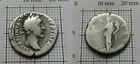 Fortuna imp.ANTONINUS PIUS 138-161 AD Original Antique Coin SILVER Denarius #141
