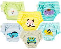 6 Pieces Set Potty Toilet Training Pants Trainers for babies kids Unisex New 03