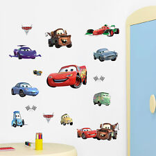 Hot! Disney Cars Wall Vinyl Sticker Decal Decor Removable Bedroom Art Boys Mural