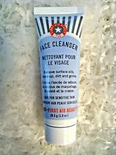 FIRST AID BEAUTY FACE CLEANSER MAKEUP OIL DIRT GRIME SENSITIVE SKIN 1 OZ TUBE