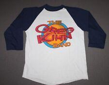 S * thin vtg 80s 1981 The GREG KIHN Band raglan tour t shirt * 64.139