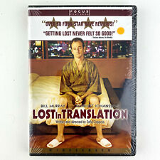 Lost in Translation Dvd Widescreen Bill Murray New Sealed Free Shipping