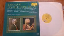 BAROQUE DOUBLE CONCERTOS D & I OISTRAKH BUCHNER SHANN DG 135082 - LP