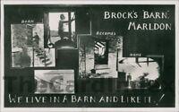 MARLDON Brock's Barn Postcard nr Paignton Torquay DEVON Anon