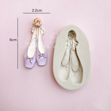 Ballet Shoes Silicone Fondant Mould Cake Decorating Sugar Topper Chocolate Mold