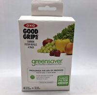 OXO Good Grips GreenSaver Carbon Filter Refills - 4 Pack