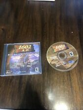 1602 A.D. + Instruction Book 1999 - Pc Cd-Rom Video A Little Scratched