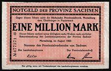 Merseburg  -  Provinz Sachsen  -  1 Million Mark  -  Prägestempel