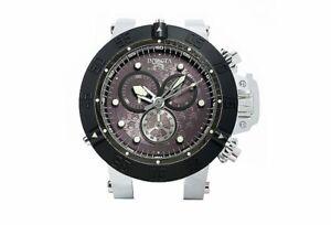 """NEW Invicta Subaqua Noma III Magnificent 19"""" Wall Clock Silver"""