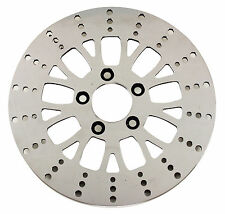 Ultima Polished S.S. Manhattan Front Brake Rotor for 84-99, 00-LTR Harley Models