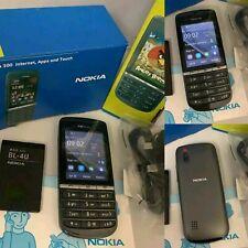 NOKIA Asha 300 Brand new Grey 3G Unlocked Touch  5MP Camera Phone.Uk seller