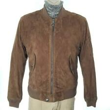 Polo Ralph Lauren Brown Suede Bomber Jacket Sz M NWT $795