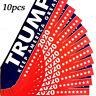 10Pcs Donald Trump President 2020 KEEP AMERICA GREAT Bumper Sticker Car Stickers