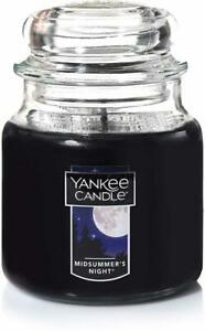 Classic Jar Candle by Yankee Candle, 14.5 oz (Medium) Midsummers Night
