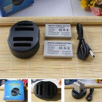 2X EN-EL5 Battery + Dual USB Charger for Nikon Coolpix P500 P510 P520 P530 P80