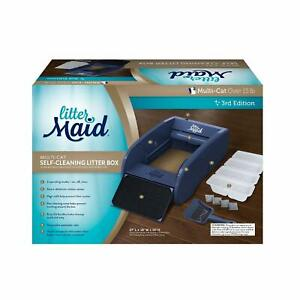 LitterMaid Automatic Multi-Cat Litter Box Self-Cleaning Scoop with Ramp