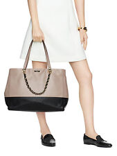NWT $548 KATE SPADE TOWN ROAD Colorblock FRANCESCA TRAVEL Leather Shoulder Tote