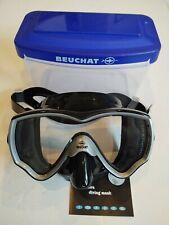 Scuba diving mask Beuchat Primo X1 with case Scubapro Mares Aqualung Cressi