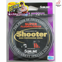 NEW Sunline Shooter Finesse Special 100m 6lb #1.5 Clear Bass Fluorocarbon Line