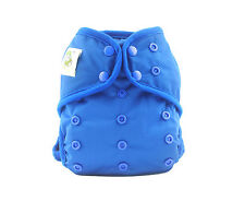 Coolababy1 Adjusable Washable Modern Cloth Diaper Antibacteral i+1 insert Blue