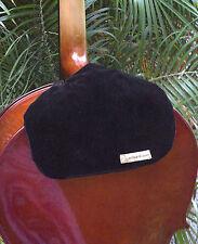Elegant Black Velvet Cello Bib for Comfort while Playing the Cello