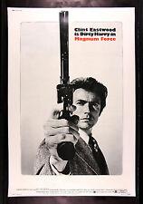 MAGNUM FORCE * CineMasterpieces HUGE 40X60 DIRTY HARRY ORIGINAL MOVIE POSTER