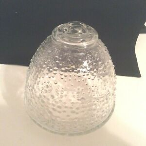 Vintage Ceiling Mount Hallway Light Globe Shade Clear Bubble Bowl