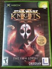 Star Wars: Knights of the Old Republic II The Sith Lords Xbox TESTED 360