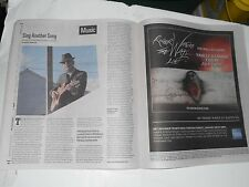 VOICEReview Leonard Cohen OLD IDEAS, Roger Waters (Pink Floyd) THE WALL Ad, 2012