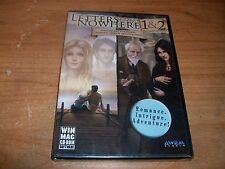 Letters From Nowhere 1 & 2 Intrigue Adventure! CD ROM Game WIN XP/Vista/7/8 NEW