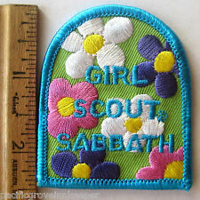 Girl Scout GSUSA SABBATH PATCH Religious Catholic Event Celebration Badge NEW