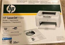 HP LaserJet P1005 Workgroup Laser Printer - BRAND NEW