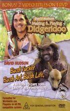 David Hudson Making & Playing Didgeridoo Bush Tucker Art Life (dvd) Get1