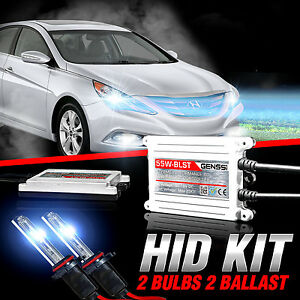 Genssi HID Xenon Conversion Kit Bulbs 55w X Treme For Hyundai Sonata 11 to 2014