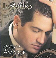 Luis Santiago-Motivos Para Amarte  CD NEW