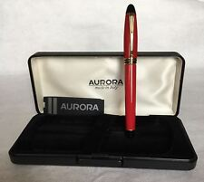 Aurora Fountain Pen  -  Penna Stilografica Aurora  -  B11 Ipsilon (Red)